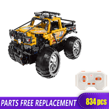NEW Xingbao 22003 Technic Series Remote Control Buggy Building Blocks Off-road RC Car Bricks motorized 20005 technic car series remote control vehicle rc truck model building blocks bricks compatible with 42043 kids toys