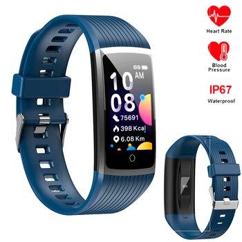Smart Bracelet Men Women Fitness Tracker band 4 Heart Rate Blood Pressure Pedometer Wristband Watch For XiaoMi Honor IOS Phone