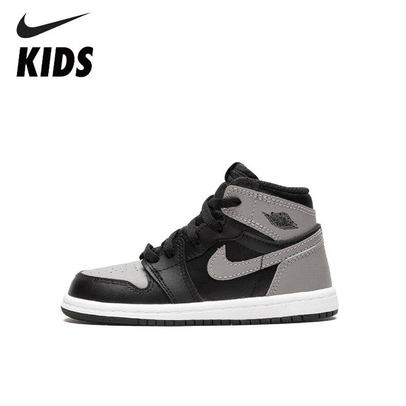 Nike Air Jordan 1 Original New Arrival Kids Shoes Comfortable Children Basketball Shoes Sports Sneakers #AQ2664-013