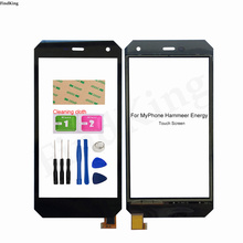 Mobile Phone Touch Screen For MyPhone Hammer Energy Touch Screen Digitizer Sensor Glass Panel Replacement Parts