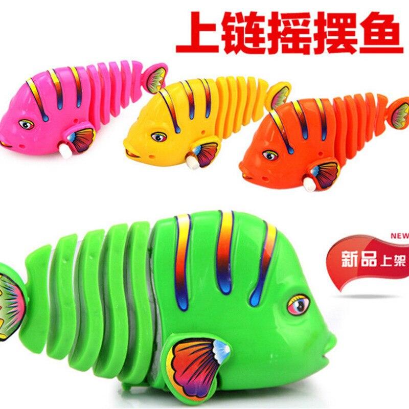 80 Nostalgic Kids Infants Children Baby Winding Frog Algam Wind-up Toy Multi--Tin Toys