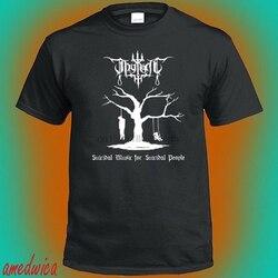 Camiseta preta dos homens do logotipo da faixa suicida da luz