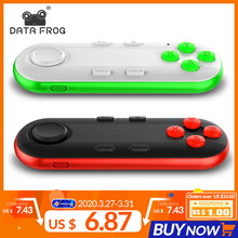 Wireless Bluetooth Gamepad VR Remote Mini Bluetooth Game Controller Joystick For IPhone IOS Xiaomi Android Gamepad For PC VR Box mini bluetooth joystick wireless gamepad universal remote controller game pad for android smart phone vr box 3d glasses