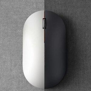 Image 4 - 100% oryginalny Xiaomi MI przenośna mysz zdalny bezprzewodowy optyczny RF 2.4GHz Dual Mode podłącz komputer Windows 7 / 8 / 10