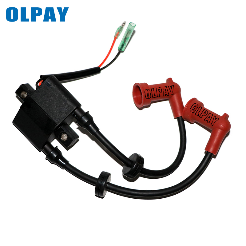 13.5 15 Ignition Coil for Yamaha Outboard F9.9 6F5-85570-00 20 25HP 40HP 2 or 4 Stroke Engines