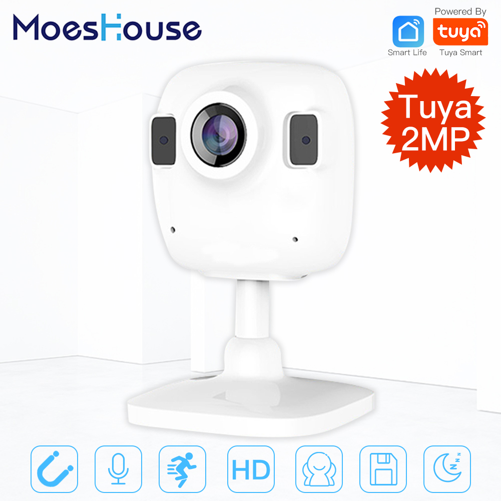 Tuya Smart Life Wireless HD 1080P IP Camera Smart Infrared Two-way Audio Night Vision