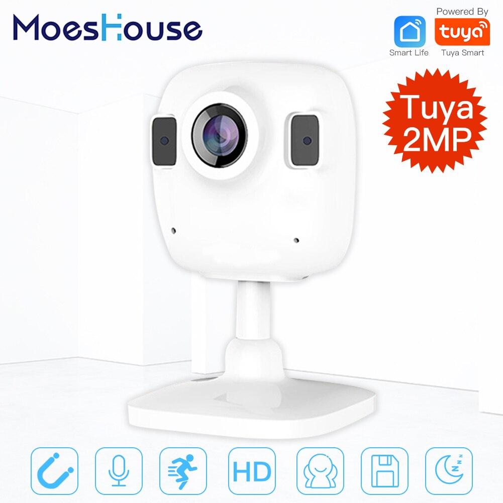 Tuya Smart Life Wireless HD 1080P IP Camera Smart Infrared Two-way Audio Night Vision
