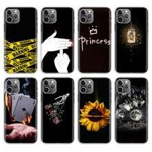 La Casa de papel Black Phone Case For Apple iPhone 11 Pro 6 6S 7 8 Plus 10 X XS MAX XR 5 5S SE Phone Case Cover babaite spain tv la casa de papel novelty fundas phone case cover for apple iphone 8 7 6 6s plus x xs max 5 5s se xr cases