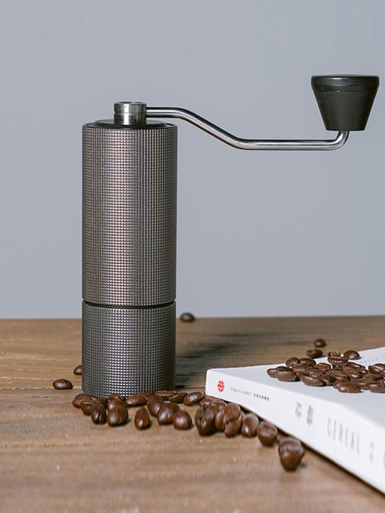 Burr Grinder Chestnut Coffee Manual Stainless-Steel Timemore Milling Mini Aluminum C2