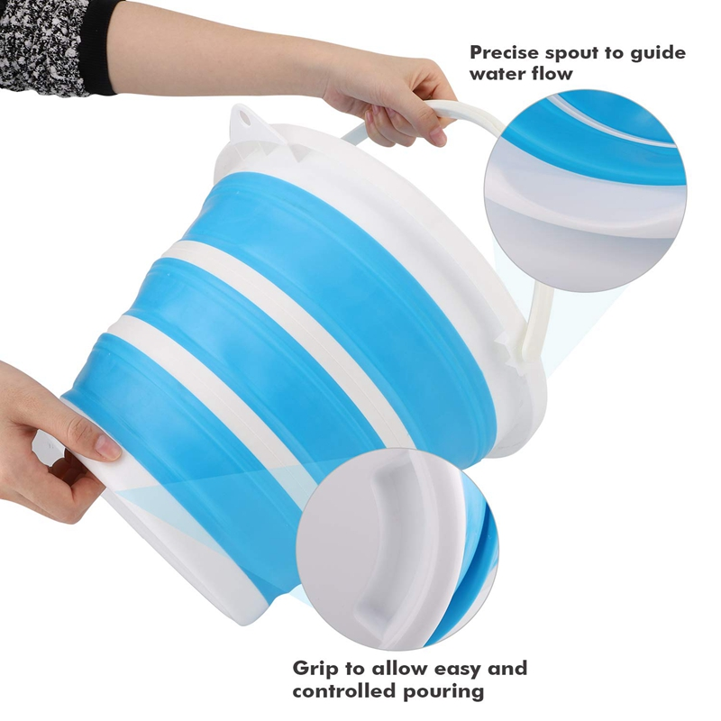 10l balde silicone para pesca 01