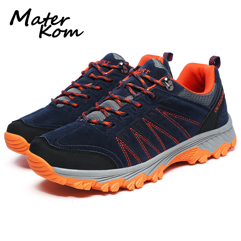 2019 Outdoor Lover Hiking Shoes Woodland Sport Sneakers Couple Travel Trekking Shoes Waterproof Climbing Mountain Boots Men