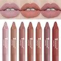 12 farben Samt Matte Lippenstifte Bleistift Wasserdichte Langlebige Sexy Red Lip Stick auf-Stick Tasse Make-Up Lip Tint stift Kosmetische
