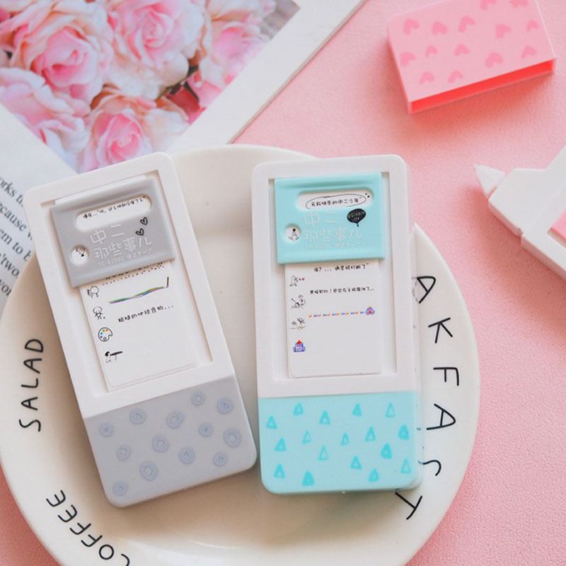 1 Pcs Hot Sale School Life Lovely Decorative Correction Tape Diary Stationery Office Cute School Supply Gift