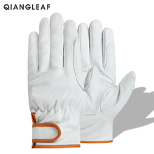 QIANGLEAF Brand Plus Cotton Warm Safety Working Gloves High Quality Mechanic Autumn Winter Mechanism Work Gloves For Workers H73