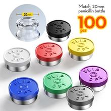 Glass-Cap Medical-Bottle-Cap Aluminum-Cap 20mm-Diameter OD