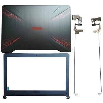 For ASUS FX504 FX504G FX504GD/GE FX80 FX80G FX80GD Laptop LCD Back Cover/Front bezel/Hinges/Palmrest/Bottom Case 47BKLLCJN80