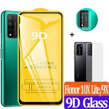 Honor 10X Lite Film arrière + protecteurs d'écran avant Honor 10 X Lite accessoires verre trempé Honor10X 9X 10i Glass Honor 10 X Light Verre de protection