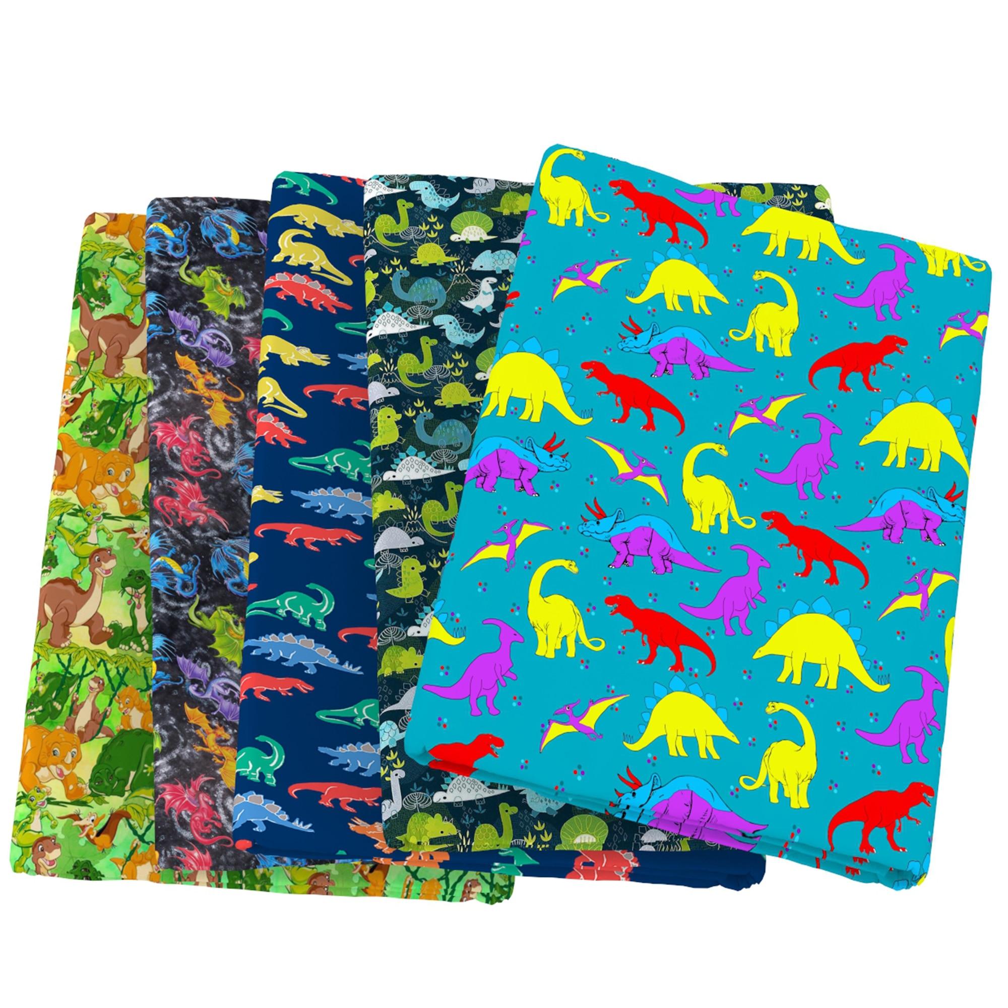 Patchwork Dinosaur Animal Polyester Cotton Fabric Sewing Quilting Fabrics Needlework Material DIY Handmade Cloth,c14071