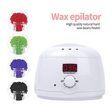 Wax Epilator Paraffin Heater for Women Men Spa Wax Dipping Pot Hair Removal Body Depilatory LED Display Wax Heater Machine