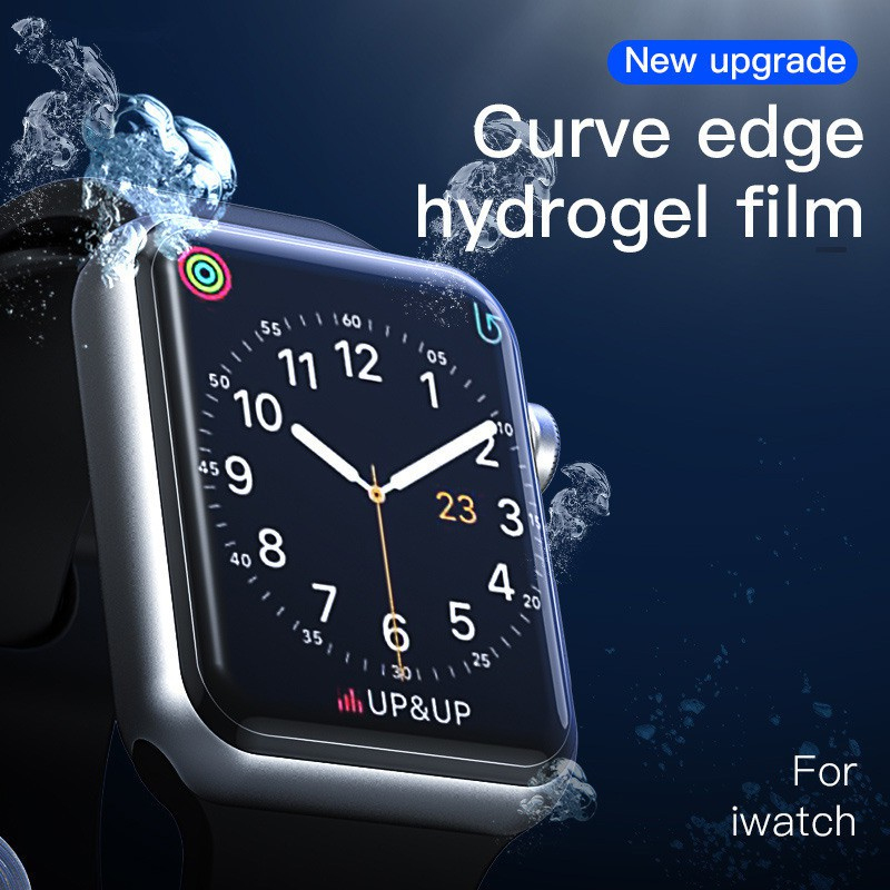 For Apple Watch Watch TPU Film Series 4 3 2 1 40mm 44mm 38mm 42mm