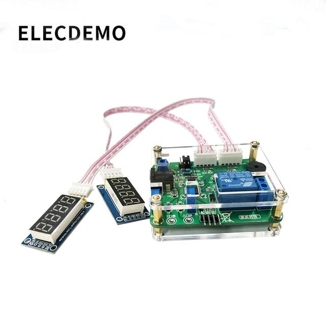 電圧比較リレーモジュール上下しきい値検出アラーム過電圧保護充電と放電バッテリー