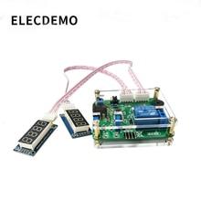 Módulo de relé de comparação de tensão superior e inferior limiar de detecção alarme sobretensão proteção carga e descarga bateria