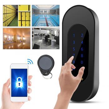 Цифровой электронный пароль смарт-замок приложение карта паролей сенсорный замок для шкафа