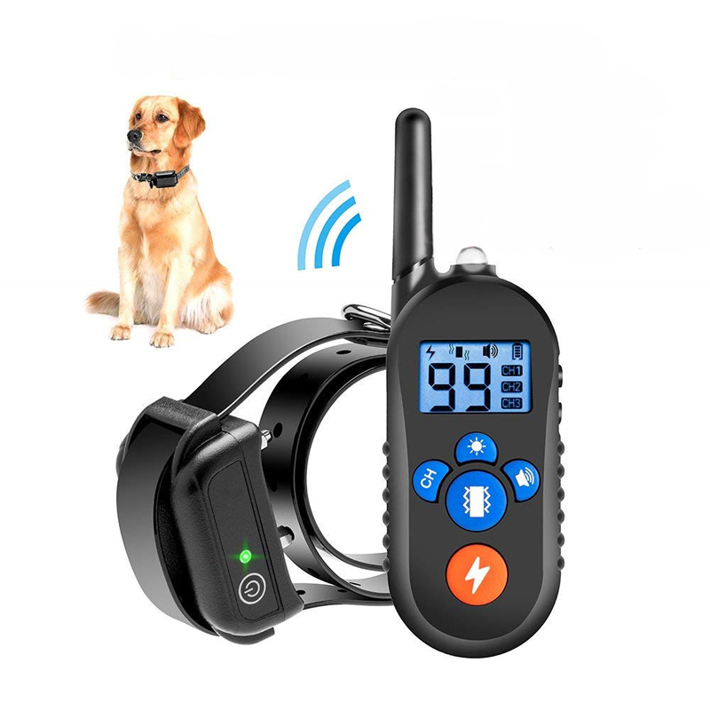 Dog Trainer 800 M Remote Control Electric Shock Vibration Warning Pet Supplies Electronic Training Collar Pet Supply