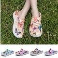 Frauen Mode Clogs Strand Sandalen Hohl Schuhe Reise Outdoor Freizeit Hausschuhe Garten Clogs