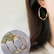 Модные Простые большие круглые серьги кольца chimera в стиле
