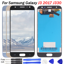 J330 LCD For Samsung Galaxy J3 2017 Display with Touch Screen Digitizer Assembly for J330F SM-J330