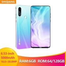 Smartfony SHIQIANG odblokowane 6GB 128GB tylna kamera 30MP podnoszona kamera przednia kamera 16MP telefon Android 4G LTE telefony komórkowe