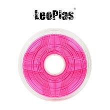 Liquidação nos eua espanha armazém 2.85mm 1kg ultimaker cor-de-rosa pla filamento para fdm 3d impressora material impressão suprimentos