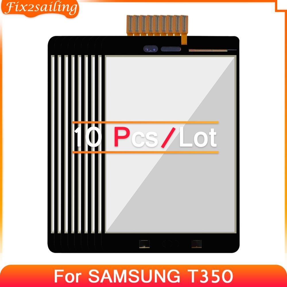10 шт. для Samsung Galaxy Tab A 8,0 T350 T355 SM-T355 SM-T350 сенсорный экран с цифрователем сенсорного ввода замена 100% тестирование