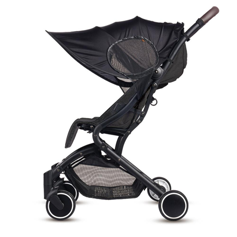 New Stroller UV-resistant Awning Universal Detachable Baby Sunshade Windproof Sun-proof Stroller Accessories