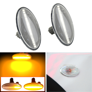Image 2 - Car Accessories Dynamic LED Turn Signal Side Marker Light For Subaru Forester Impreza 2008 2019 Sequential Lamp Indicator