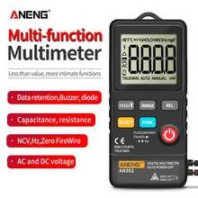 Aneng an302 мультиметр цифровой токовые клещи тестер транзисторов