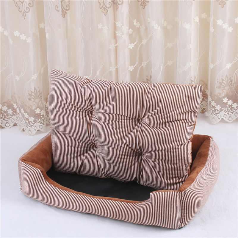 Köpek yatağı Mat ev kış sıcak ped Pet malzemeleri kulübesi yumuşak köpek köpek yavrusu sıcak yatak peluş Cozy Nest küçük orta büyük köpek