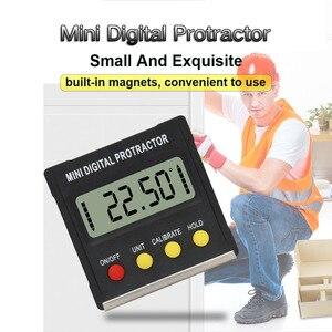 Image 2 - R&D 360 Degree Mini Magnetic Digital Inclinometer Level Box Gauge Angle Meter Finder Protractor Base Measuring Tools