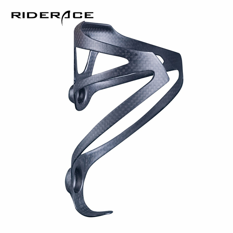 Bicycle <font><b>Bottle</b></font> Holder Full 3K Carbon Fiber Super Light Road/Mountain <font><b>Bike</b></font> Cycling Water <font><b>Bottles</b></font> <font><b>Cage</b></font> Holder Matte Glossy 18g XXX image