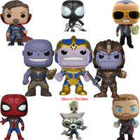 FUNKO POP Marvel Avengers Iron Man Captain America Brinquedos PVC Action-figuren Sammlung Modell Original Box Geschenke Spielzeug 2F26