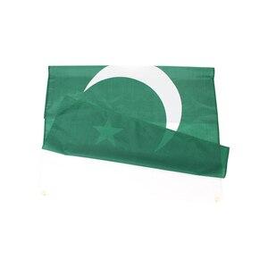 Image 2 - Johnin drapeau de la république islamique pakistanaise, PAK, 3x5, 90x150cm