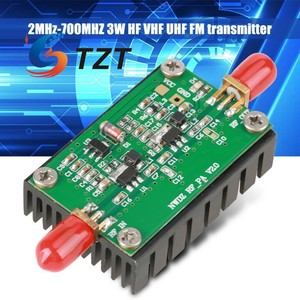 Image 5 - TZT RF Amplifier Board 2MHz 700MHZ Broadband RFเครื่องขยายเสียง3W HF VHF UHF FM Transmitterเครื่องขยายสัญญาณRFสำหรับวิทยุ