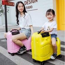 Детский чемодан на колесиках детский Дорожный Студенческая сумка