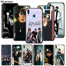 CNCO Christopher Velez Case for Huawei Honor Y9 Prime 2019 Y7 Y6 Y5 2018 Honor 20S Nova 5T Black Silicone Phone Cover Fall(China)