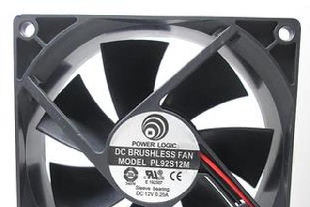 Oryginalna moc PL92S12M 12V 9CM 9025 90*90*25MM 2 linii wentylator radiatora tanie tanio Sprzętu