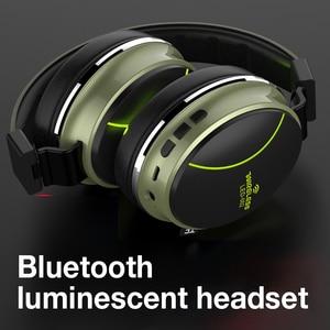Image 4 - SANLEPUS אלחוטי אוזניות Bluetooth אוזניות סטריאו מתקפל אוזניות HIFI סטריאו אוזניות Bluetooth אוזניות מוסיקה אוזניות