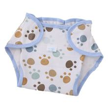 Reusable Nappies Cloth Full Cotton Newborn Baby Natural Diapers Comfortable 6 Layers Washable Baby Care Training Pants Supplies(China)