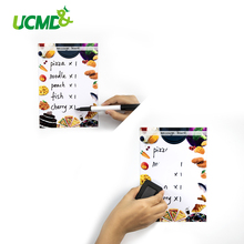 A5 Magnetic Whiteboard Fridge Sticker Removable Erasable Writing Drawing Message Memo Pad Remind Record Board Wall Decor