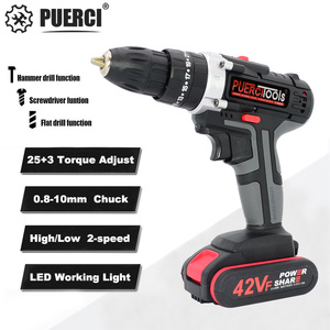 PUERCI 21V Electric Screwdrive